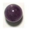 Semi-Precious 12mm Round Amethyst